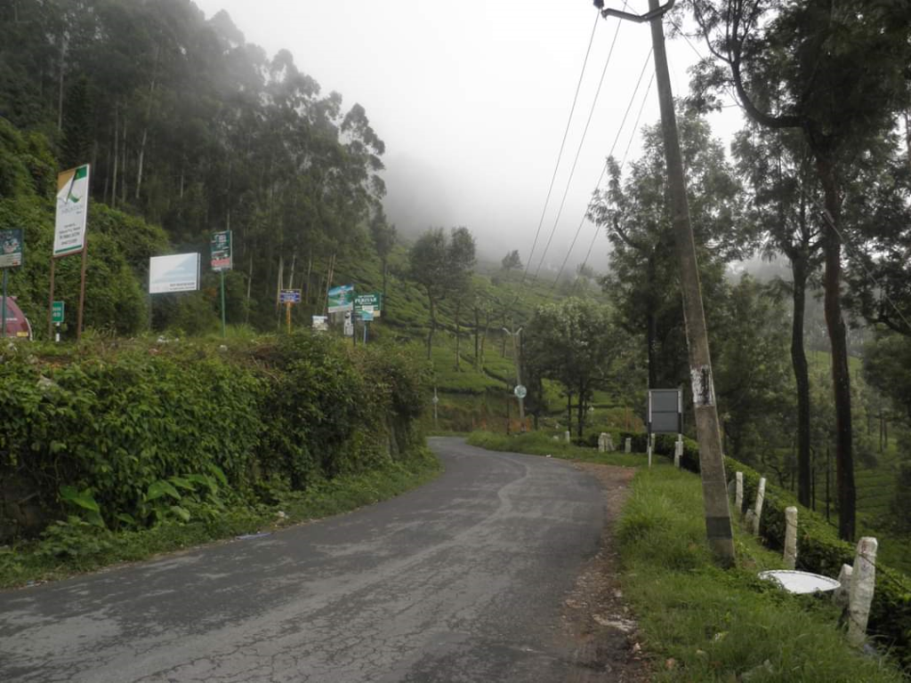 A road of Munnar