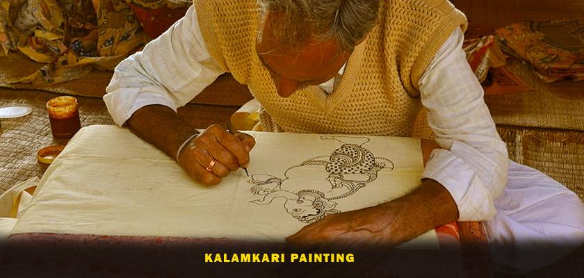 Kalamkari painting andhra pradesh
