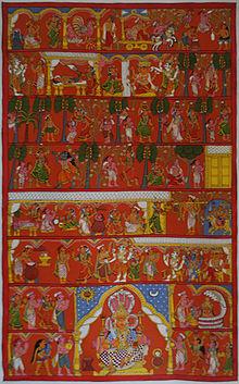 Cheriyal Painting
