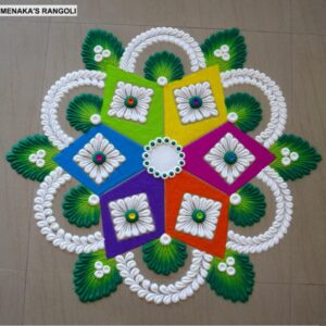 rangoli designs for beginners